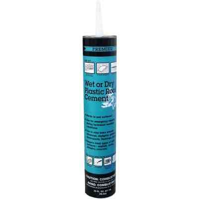 Premier 350 29 Oz. Wet or Dry Plastic Roof Cement