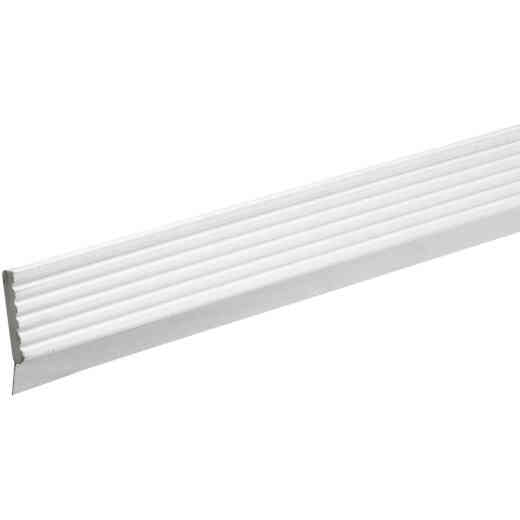 Do it 3 In. x 9 Ft. White Vinyl Top and Side Garage Door Seal with Sweep