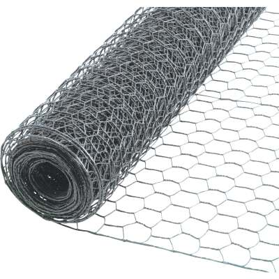 Do it 1 In. x 24 In. H. x 50 Ft. L. Hexagonal Wire Poultry Netting